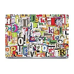 Posterboy Letters Laptop Skin (Multicolor)