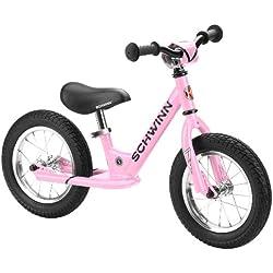 Schwinn 12-Inch Balance Bike, Pink