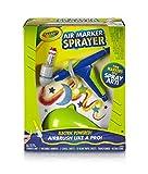 Crayola Air Marker Sprayer, Marker Art Tool, Turn Markers Into Spray Art, Airbrush Like a Pro,