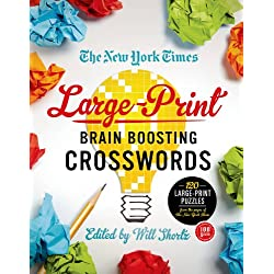 The New York Times Large-Print Brain-Boosting Crosswords: