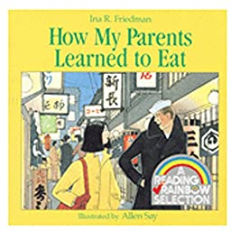 HOUGHTON MIFFLIN HOW MY PARENTS LEARNED TO EAT BOOK (Set of 6)