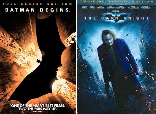 Christopher Nolan Batman Collection (Batman Begins, The Dark Knight 2 Disc Special Edition)