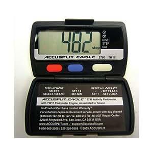 Sportime 025541 Pedometer Accusplit AE2790 Set of 12