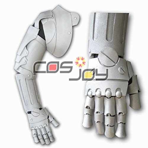 Cosjoy Fullmetal Alchemist Edward Elric Right Arm Armour EVA Cosplay Prop