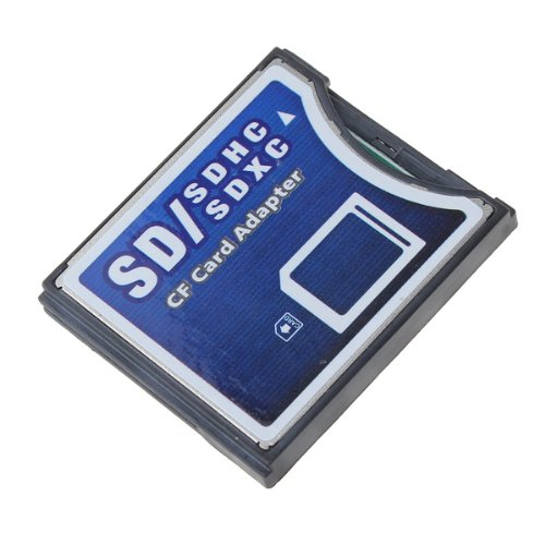 Wifi Sd/Mmc/Sdhc/Sdxc To Compact Flash Cf Type Ii Memory Card Adapter Converter