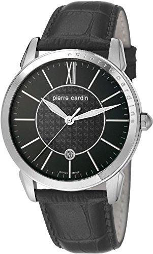 Pierre Cardin Orologio da polso da uomo al quarzo in pelle PC105911S01Soleil