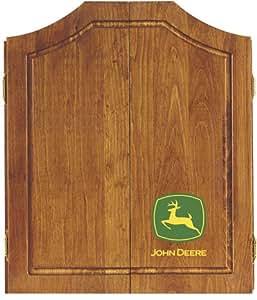 John Deere Dartboard Cabinet