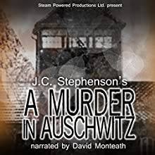 A Murder in Auschwitz (       UNABRIDGED) by J.C. Stephenson Narrated by David Monteath