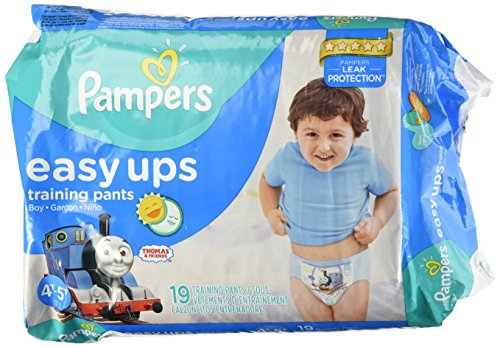 Pampers Easy-Ups Diapers, Boys, 4T-5T, 19-count - 1