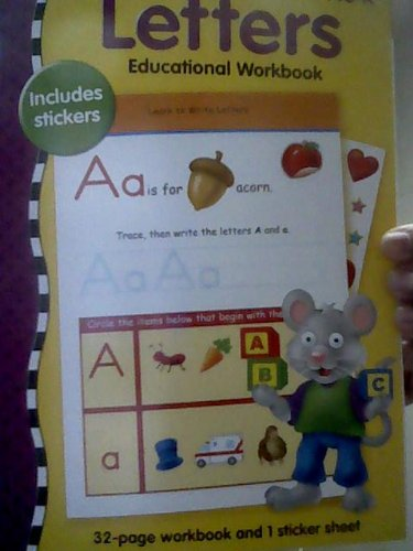 Numbers Educational Workbook Includes Stickers - 1