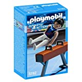 Playmobil Sports Gymnast on Pommel Horse Set ~ PLAYMOBIL�