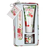 Cath Kidston Rose Hand Care Set - Emery Board, Hand Cream & Cuticle Cream