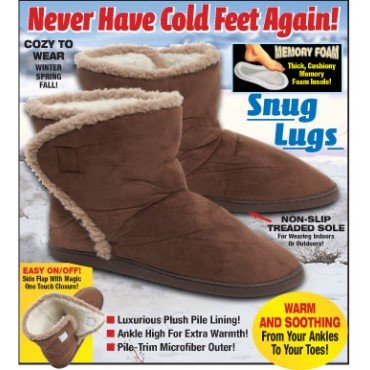 Cheap Dream Products Warm Comfortable Winter Cold Bootie Snug-Lugs (B005EYOY7M)