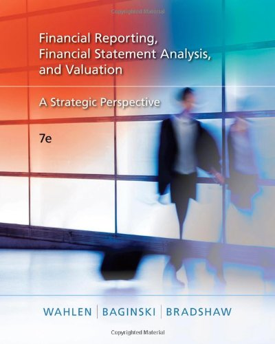 Financial Reporting, Financial Statement Analysis and...