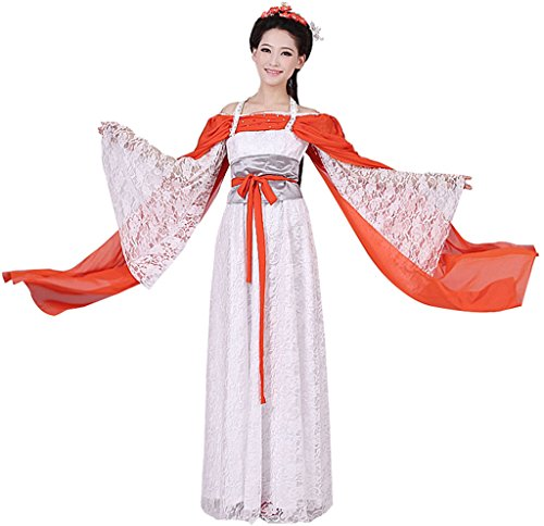 Chinese Style Stage Costume Women's Prinecess Dress Halloween Cosplay HanFu