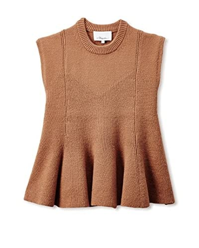 3.1 Phillip Lim Women's Sleeveless Flare Sweater