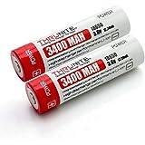 ThruNite® 3400mAh 18650 Protected Li-ion ricaricabile per alta potenza Torce