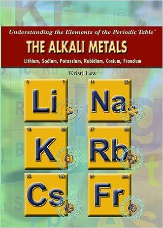 The Alkali Metals: Lithium, Sodium, Potassium, Rubidium, Cesium, Francium (Understanding the Elements of the Periodic Table) written by Kristi Lew