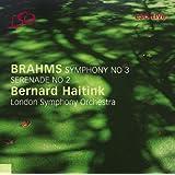 Brahms - Symphony No 3; Serenade No 2