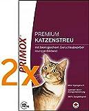 Primox Katzenstreu Sparpack - 2x 12kg (ohne Babypuderduft)