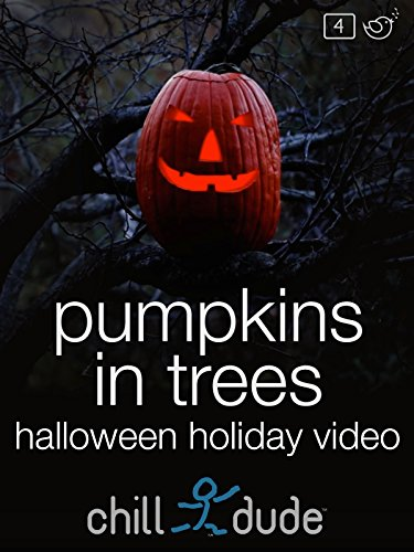 Pumpkins in Trees Halloween Holiday Video