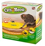 Petzoom Cat's Meow Undercover Mouse Cat Toy, Petzoom Cat's