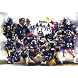 Pittsburgh Steelers (Group, Trophies) Sports Poster Print