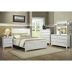 alyssa bedroom set white king bedroom