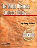 img - for Music Business Contract Library (Hal Leonard Music Pro Guides) PAP/CDR edition by Forest, Greg (2008) Paperback book / textbook / text book