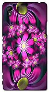 Timpax protective Armor Hard Bumper Back Case Cover. Multicolor printed on 3 Dimensional case with latest & finest graphic design art. Compatible with Sony L39H - Sony 39 Design No : TDZ-27810