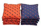 Regulation Cornhole Bags (Set of 8) Royal and Orange - Florida Outline