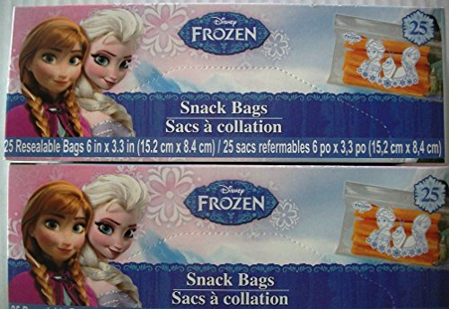 Disney® Frozen Snack Bags 50 Ct