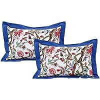 Dekor World Jungle World Cotton Pillow Cover (Pack Of 2 Pcs)
