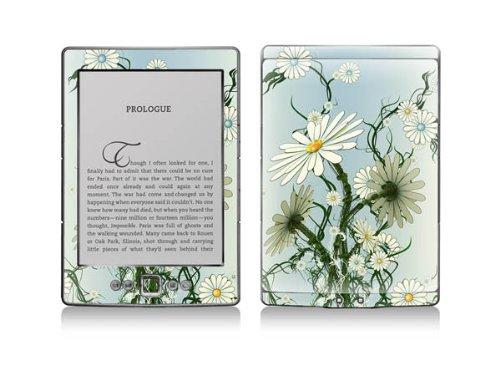 Kindle 4 Protective Decal Skin - Camomile - SALE