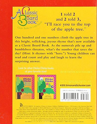 Chicka Chicka 1, 2, 3 (Classic Board Books)