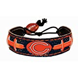Chicago Bears Team Color NFL Football Bracelet