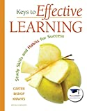 img - for Keys to Effective Learning: Study Skills and Habits for Success Plus NEW MyStudentSuccessLab -- Access Card Package (6th Edition) book / textbook / text book