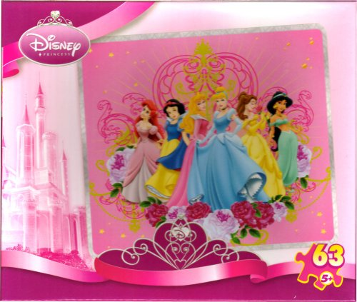 Disney Princess 63-pc Puzzle ~ Princess Portrait