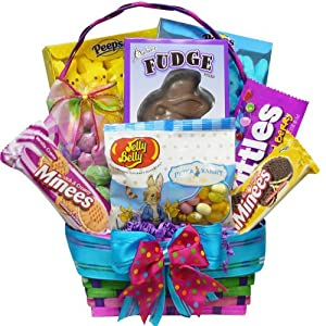 Art of Appreciation Gift Baskets Bunny Treats Chocolate and Candy Easter Gift Basket