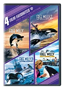 4 Film Favorites: Free Willy (Free Willy, Free Willy 2: The Adventure Home, Free Willy 3: The Rescue, Free Willy 4) from Warner Home Video