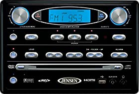 ASA Electronics (AWM975) Black AM/FM/DVD Stereo