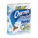 Charmin Ultra Soft, Toilet Paper Mega Rolls, 12-Count (Pack of 4)