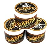 Suavecito Pomade Firme/Strong Hold 4 oz. (pack of 3) by USA [並行輸入品]