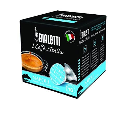 Bialetti 6822 Mini Express Espresso Capsules, Napoli, 16-pack (Capsule Bialetti compare prices)