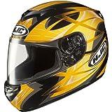 HJC Storm Men's CS-R2 On-Road Motorcycle Helmet - MC-3 / Large