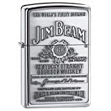 Personalized Message Engraved Customized Gift For Him For Her Jim Beam Zippo Lighter Indoor Outdoor Windproof Lighter (Style4)