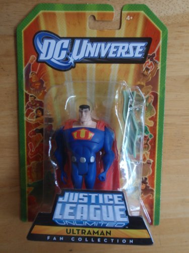 Picture of Mattel DC Universe Justice League Unlimited Fan Collection Action Figure Ultraman (B0046EPHMC) (Mattel Action Figures)