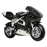 MotoTec Gas Pocket Bike Riding Toy -