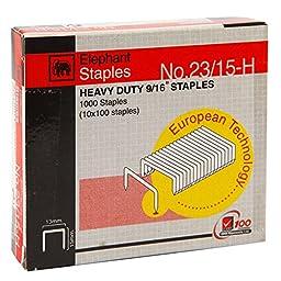 Elephant Desktop Staples No.23/15-H Titania, Pack 2 pcs.