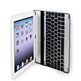 MiniSuit Aluminum Bluetooth Keyboard Case for Apple iPad 2
